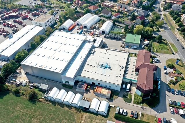 Stavba nové skladové haly firmy HAWLE v Jesenici