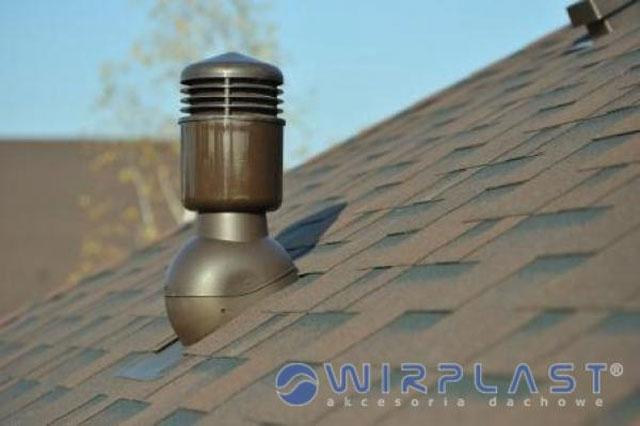 Odtah digestoře na střechu